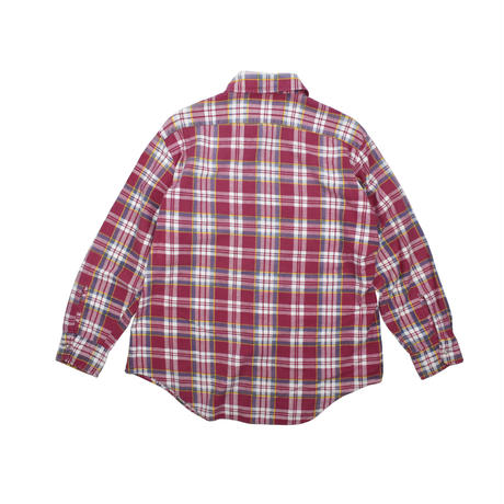 USED 70'S FLANNEL PLAID SHIRTS