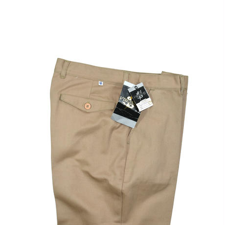 """DEADSTOCK """"VIRGINIAN SPECIAL"""" COTTON TWILL TROUSERS"""
