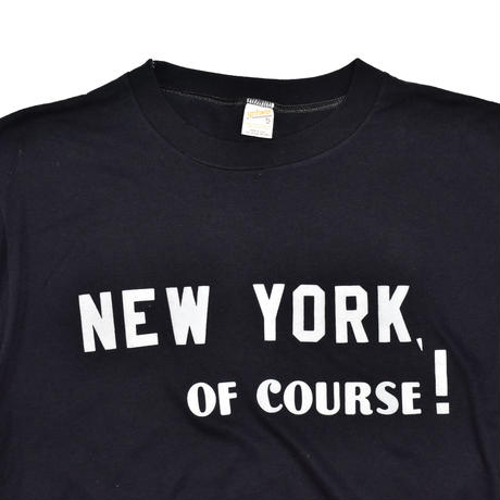 "USED ""NEW YORK OF COURSE !"" T-shirt"