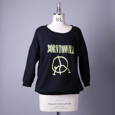 【SS05】BORN TO WILL 7分袖スウェット