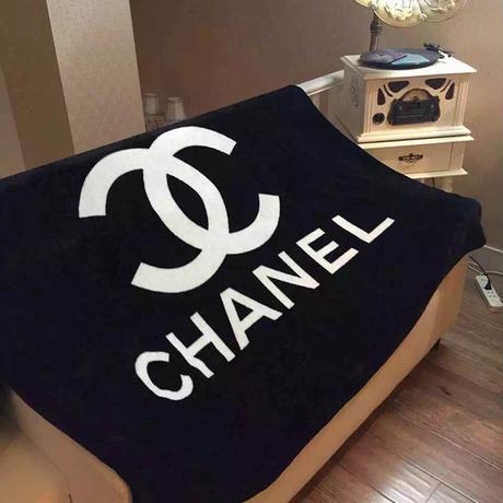 人気ベルベット シャネル CHANEL 柔らかな毛布 ブランケット 大判 150*200CM  勧め寝具