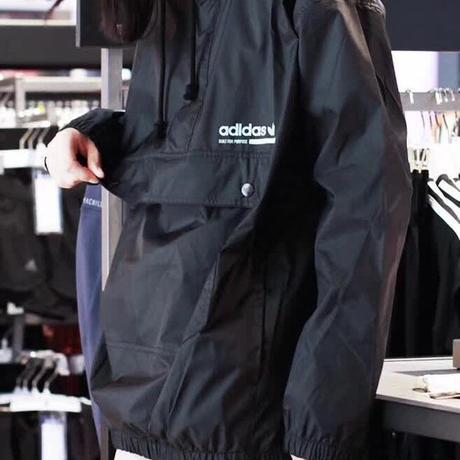 新入荷 アディダスロングパーカー スウェットジャケット ブラック 男女兼可