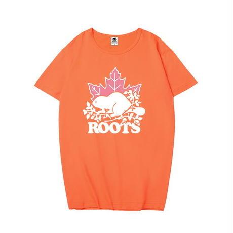 新入荷 人気新品☆ROOTS CANADA ルーツカナダ Tシャツ 半袖 男女兼可 多色選!Roots☆ 上質