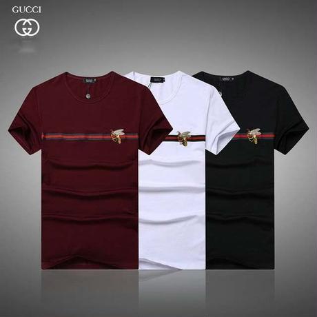 人気Gucci グッチTシャツ 半袖  男女兼用   ミツバチ 蜜蜂刺繍Tシャツ トップス