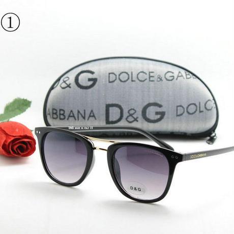 人気新品D&G  ドルチェ&ガッバーナ夏定番 サングラス メガネ Dolce&Gabbana眼鏡 男女兼用 送料無料