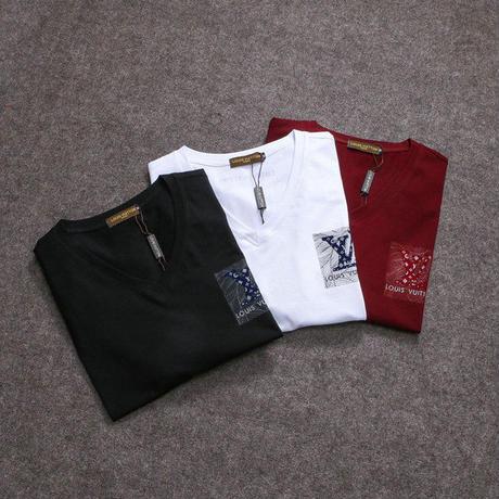 勧め美品☆Louis Vuitton ルイヴィトン☆半袖Tシャツ 半袖トップス    男女兼用