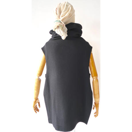 CHAW20-4214 OFF HI-NECK GILET