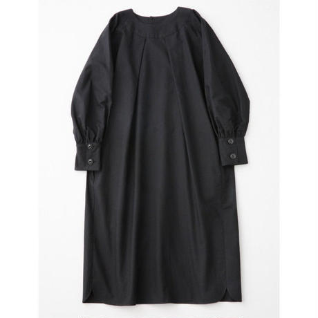 CHAW18-3812  BALLOON SLEEVE DRESS