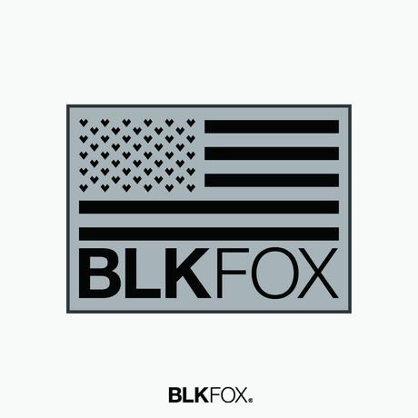 【予約販売】BLKFOX RUG 01 - Mサイズ / PGRAY × BLACK