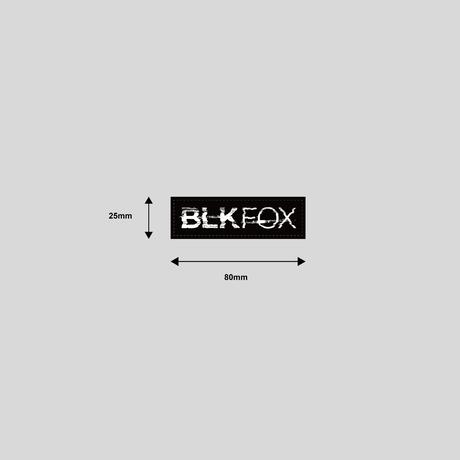 BLKFOX PVC PATCH - 08