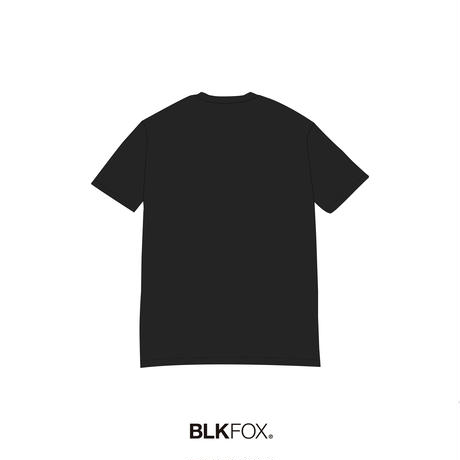 【予約販売】BLKFOX T-Shirt 02 / BLACK × TBLUE