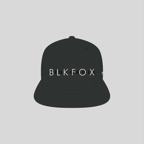 BLKFOX HEADWEAR 04 / BLACK x WHITE