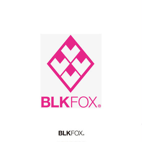 BLKFOX CUTTING STICKER 01 / PINK