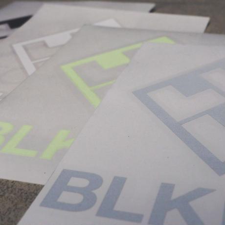 BLKFOX CUTTING STICKER - 05