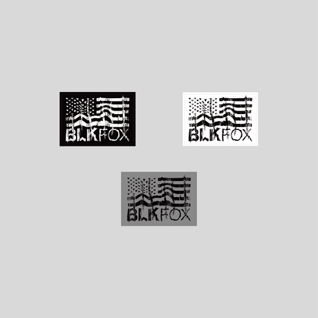 BLKFOX PVC PATCH - 09