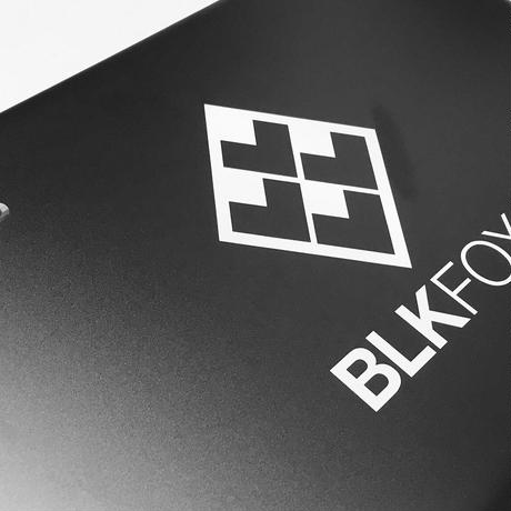 BLKFOX CUTTING STICKER 01 / WHITE