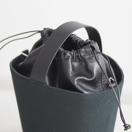 CaBas N°84 Round Bucket bag small