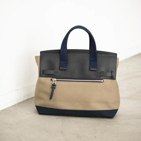 CaBas N°55 1 day tripper mini  [Khaki beige / Navy]