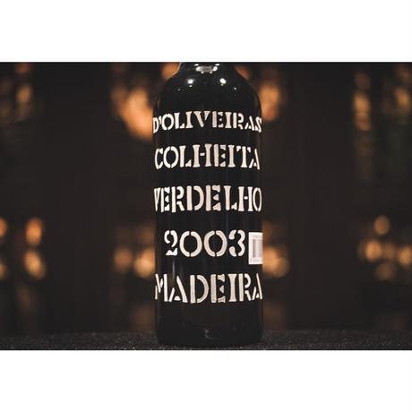 ドリヴェイラ マデイラ ヴェルデーリョ 2003 (中辛口)