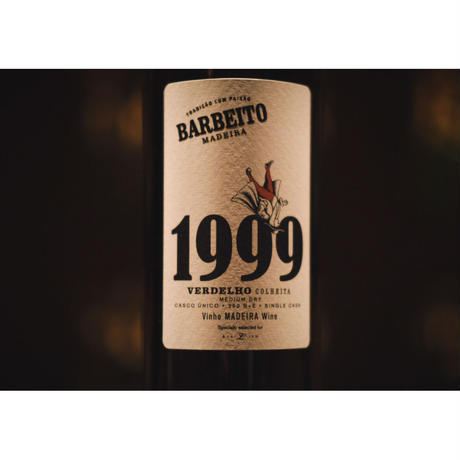 バーベイト マデイラワイン 1999 Verdelho Colheita for BAR LIEN. 300本限定 (中辛口)