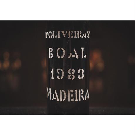【終売品。1本のみ】ドリヴェイラ ヴィンテージ ブアル 1983 (中甘口)