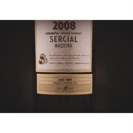 ブランディーズ マデイラワイン 2008 Sercial Colheita for BAR LIEN. 300本限定 (辛口)
