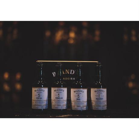 ブランディーズ マデイラワイン 5年 【ミニボトル】4種セット