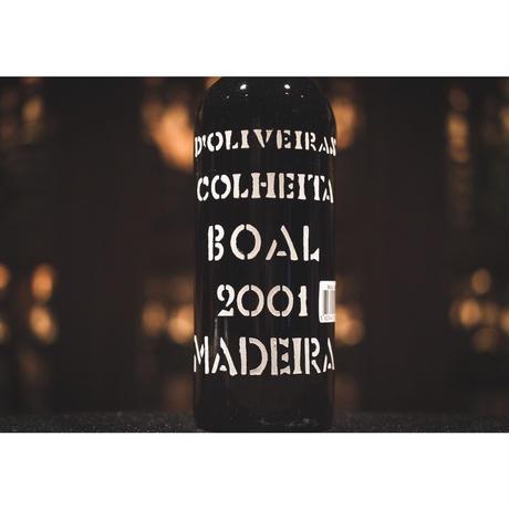 ドリヴェイラ マデイラワイン ブアル 2001 (中甘口)