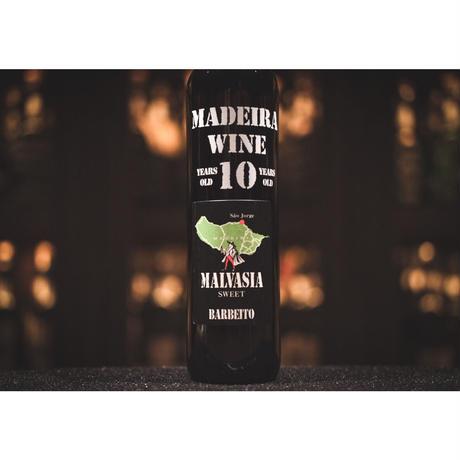 バーベイト マデイラワイン マルヴァジア 10年 (甘口)