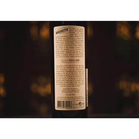 【残り僅か】バーベイト マデイラワイン  1999 Boal Colheita for BAR LIEN.    300本限定 (中甘口)