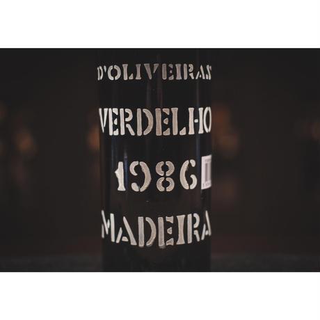 ドリヴェイラ ヴィンテージ ヴェルデーリョ 1986 (中辛口)