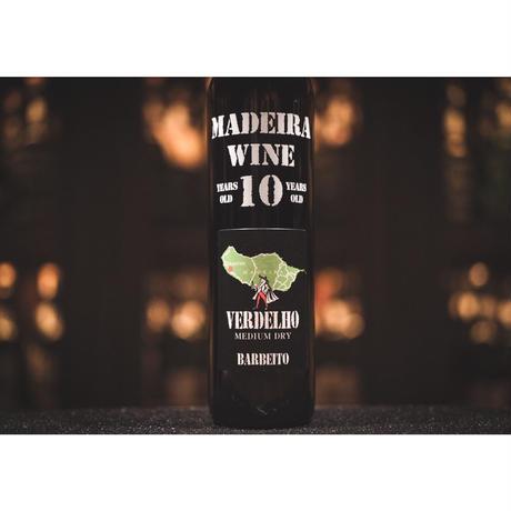 バーベイト マデイラワイン ヴェルデーリョ 10年 (中辛口)