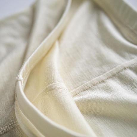 シルッキレギンス  -Washable silk- White