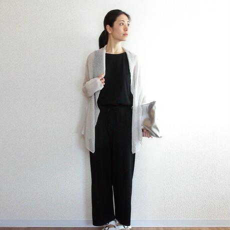 ◆特別価格◆即納◆Rigel[リゲル] 袖付きストール / アイシー・グレー