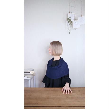 ◆即納◆Rubidea[ルビデア] スヌード・ケープ3 /ネイビー・ブルー