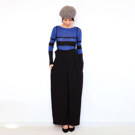 ◆即納◆Crux[クルックス] ラウンドネック・セーター / ブルー系1 / Mサイズ