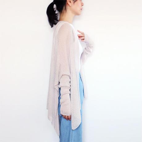 ◆7月中旬◆Alwaid[アルワイド] オールカバー袖付きストール / アイシー・グレー