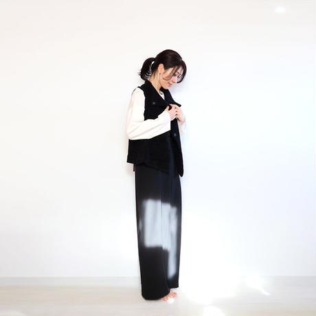 ◆即納◆Edasich[エダシク] シルクモール・ベスト / ブラック