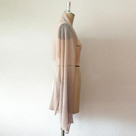 ◆即納◆Rigel[リゲル] 袖付きストール / ヌード・ベージュ