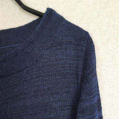 Crux[クルックス] ラウンドネック・セーター / ナイト・ブルー
