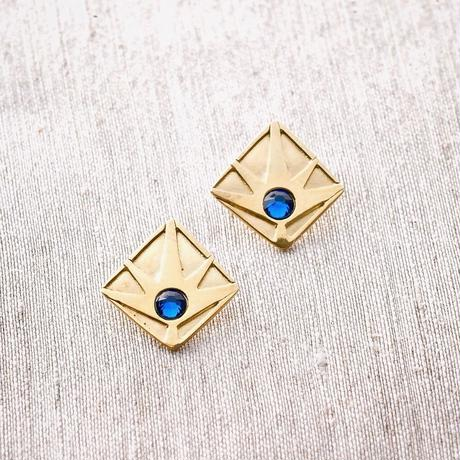 Horizon Earring / BLUE <受注生産>