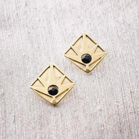Horizon Earring / BLACK <受注生産>