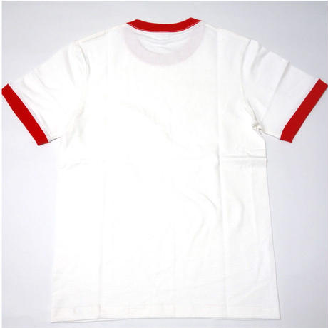 7.8oz Ringer Tee【SHJ008 RED】