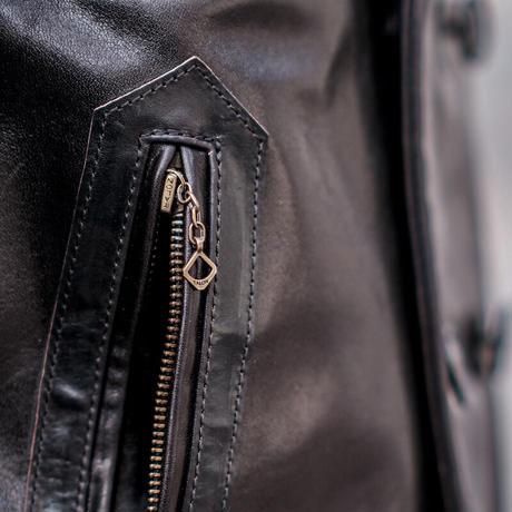 Horse Leather PEA COAT