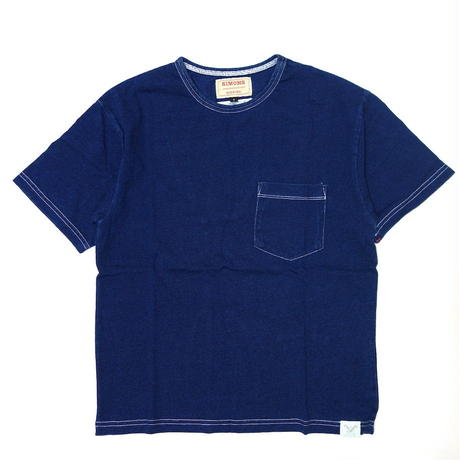 Indigo Pocket Tee【SHJ011 DEEP】
