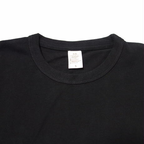 Heavy Crew Neck SS【SHJ006 BLACK】