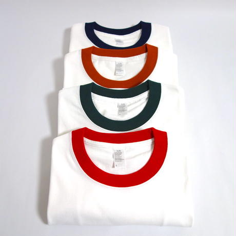 7.8oz Ringer Tee【SHJ008 ORANGE】