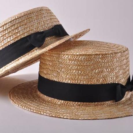 ☆帽子【親子コーデ】 麦わらカンカン帽子
