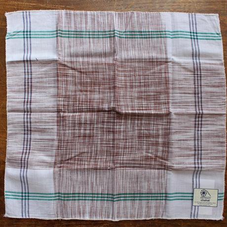 ♡khadi handkerchief♡thick