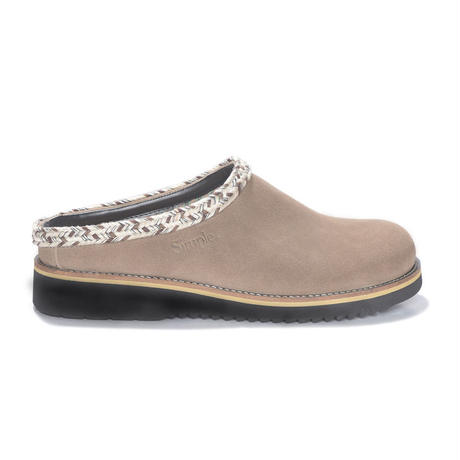 Clog Suede  TAUPE